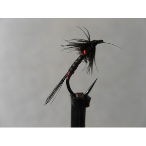 Cruncher Black Quill Red Barbless