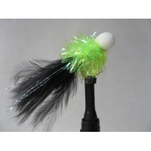 Cat Green/Black Pearl Booby Size 10