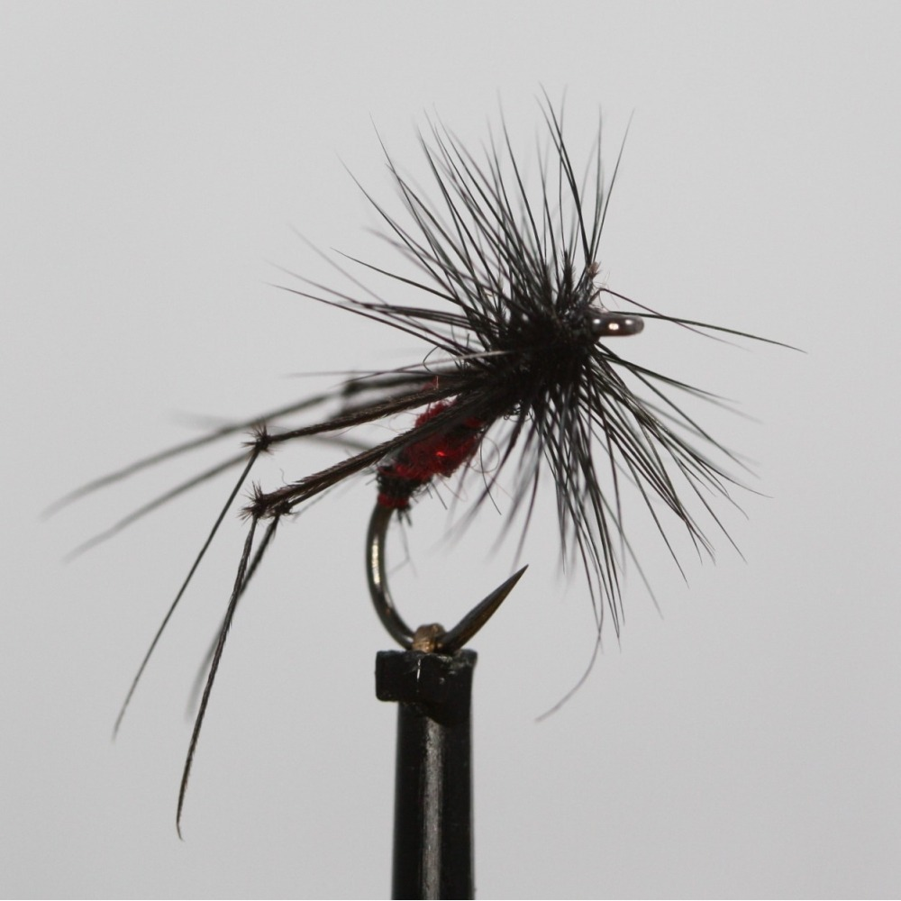 Bibio Holo Red Hopper Barbless - Size 12