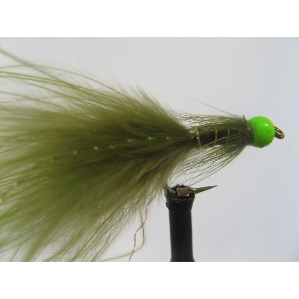 Damsel Hot Head Green Std. Size 10