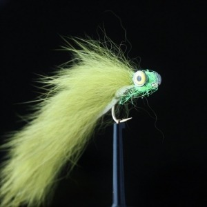 B/W Red Copper Marabou Size 10