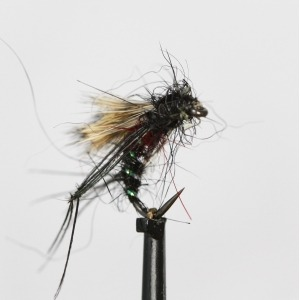 Damsel Hothead Blue Hackled Size 10