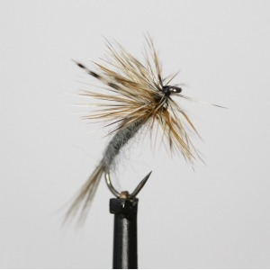Adams Dry  Barbless Size 12