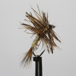 March Brown Dry Barbless Size 12