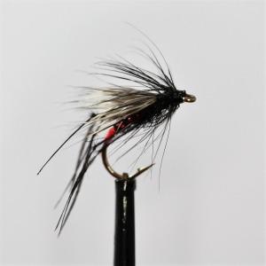12 x Black Half Hogs Orange /& Olive Sedgehog Trout Flies Mixed 10//12