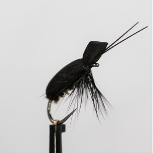 Black Foam Beetle Barbless