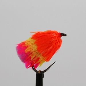 Safety Orange/Blushing Sunburst/Shocking Pink Fab Jelly Blob Barbless