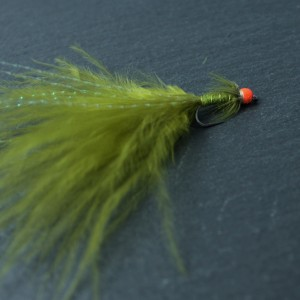 Hot Head Red Damsel Barbless