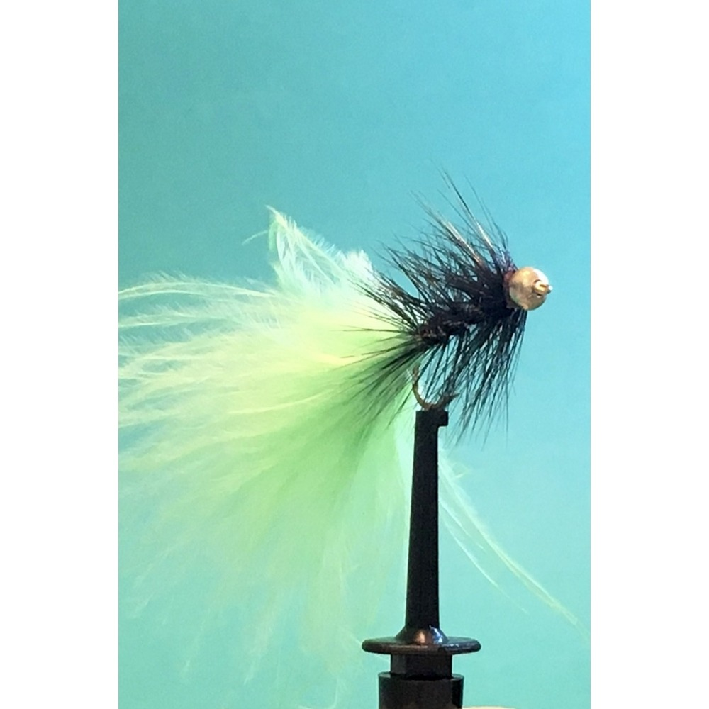 Black / Lime Green Dancer Size 10 L/S