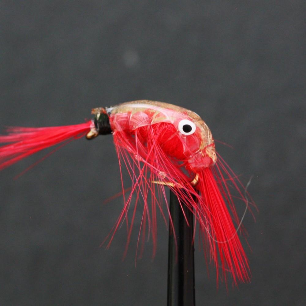 Red Epoxy Shrimp