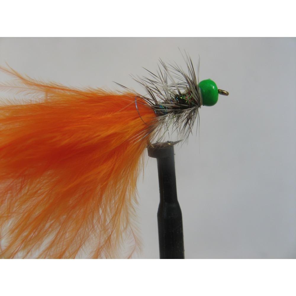 Dancer H/H Green Grizzle Orange Size 10