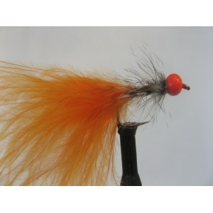 Buzzer G/Head Red Gold Rib Size 12