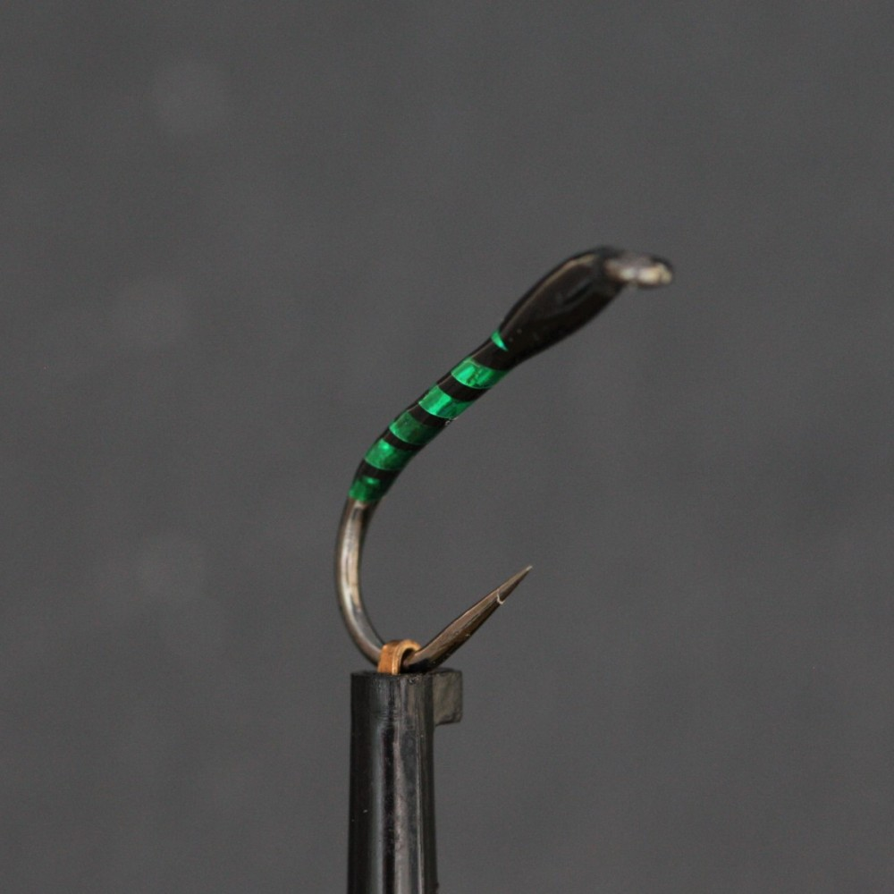 Annies Green Holo Epoxy Buzzer Barbless