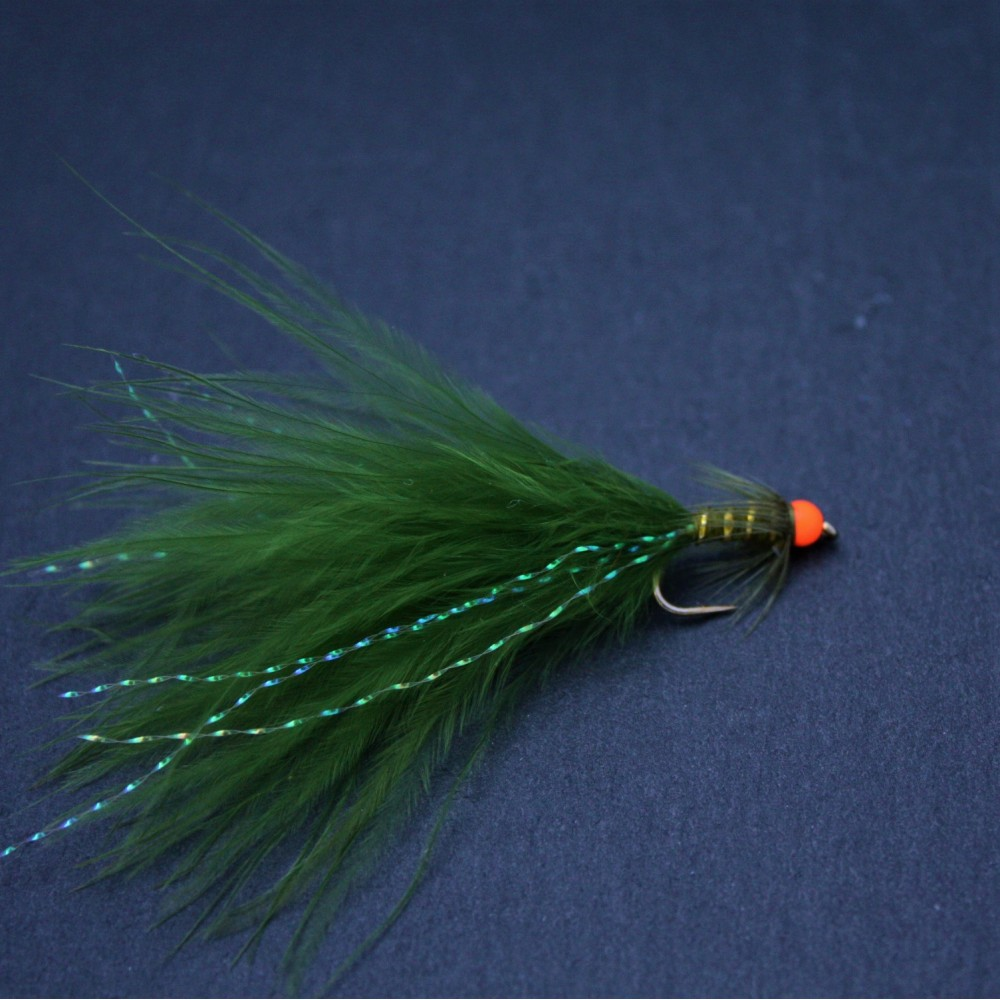 Hot Head Orange Dark Damsel