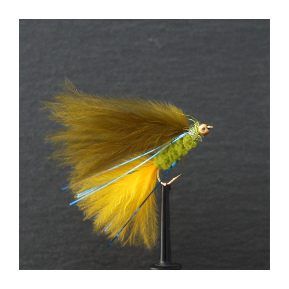 Gold Head Dawsons Olive Hot Tail