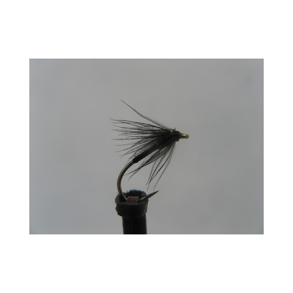 Spider Black Holo Green Thorax Size 14
