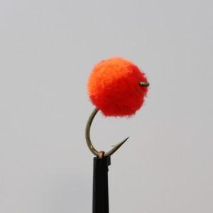 Orange and Red Egg