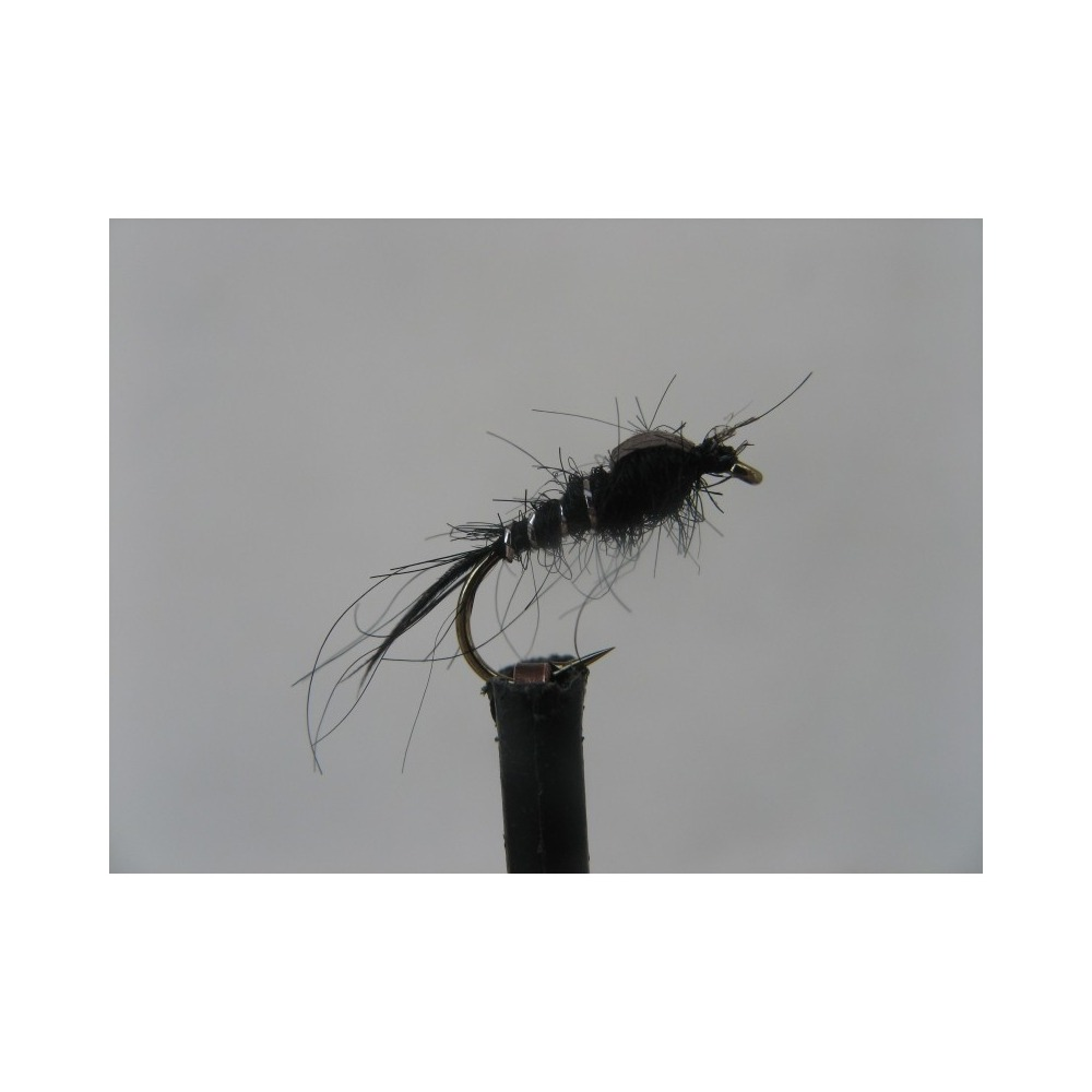 Black Silver Rib Size 12