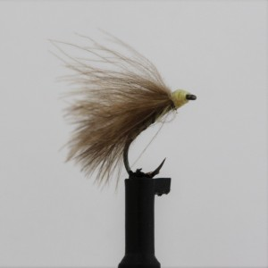 Yellow Owl CDC F Fly Barbless