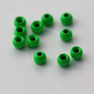 Green Brass Beads (24 per...