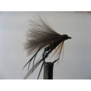 Barbless CDC Hopper Bibio Size 14