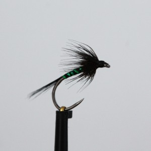 Black Holo Green Rib...