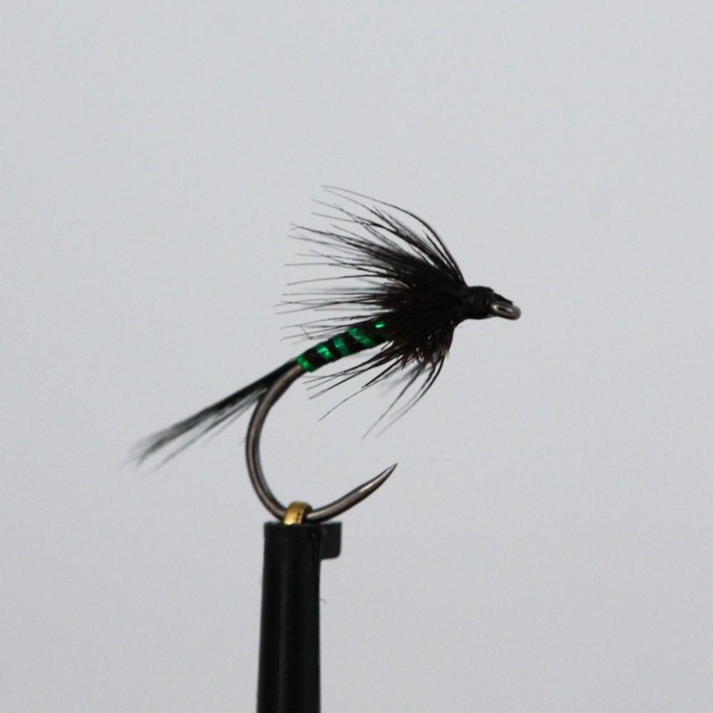 Black Holo Green Rib Cruncher Barbless