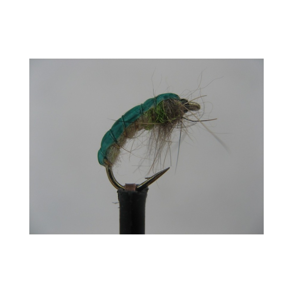 Czech Nymph Weighted Green Pea Size 10