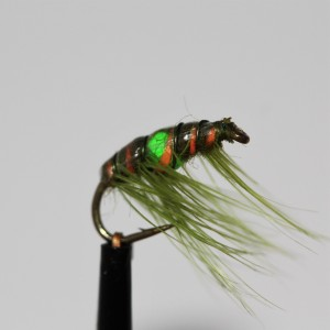 White/Chartreuse Egg Size 10