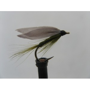 Wet Blue Winged Olive Size 12