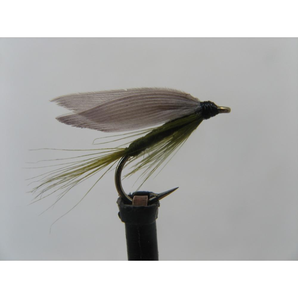 Wet Blue Winged Olive Size 12
