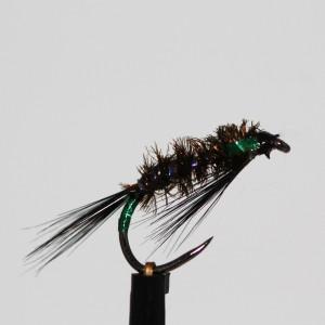UV Rib Black Holo Green...