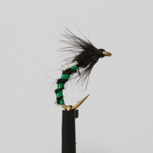 Black and Green Emerger Buzzer