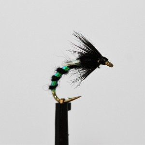 Black and Pearl Emerger Buzzer
