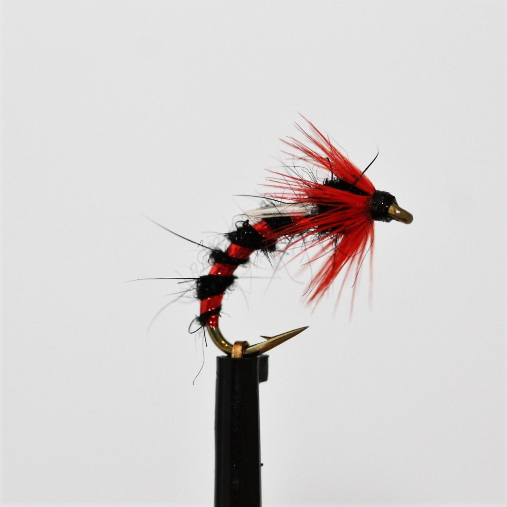 Black and Red Emerger Buzzer