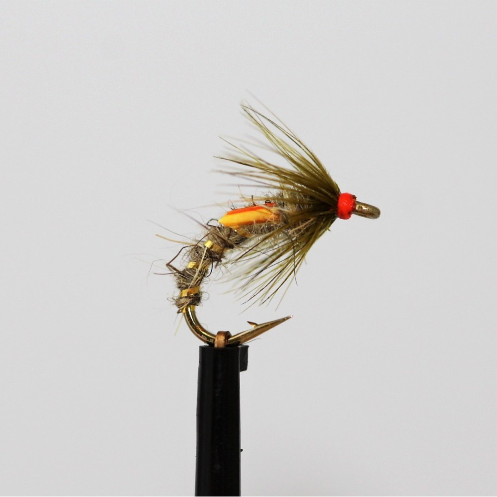 Hares Ear and Olive Emerger Buzzer