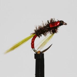 UV Rib Olive Holo Red Diawl...