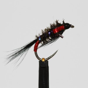 UV Rib Black Holo Red Diawl...
