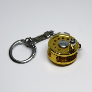 Fishing Reel Key Ring with...