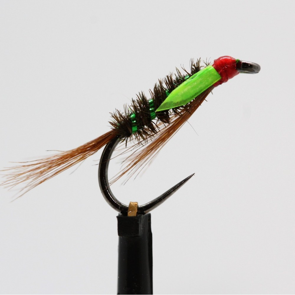 Glow Cheeks Green Diawl Bach Barbless