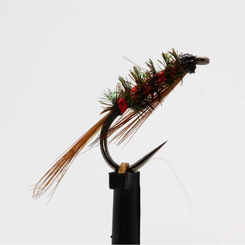 Holo Red Diawl Bach Barbless
