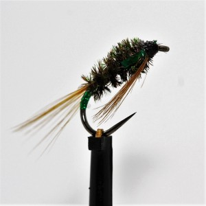 3D Green Diawl Bach Barbless