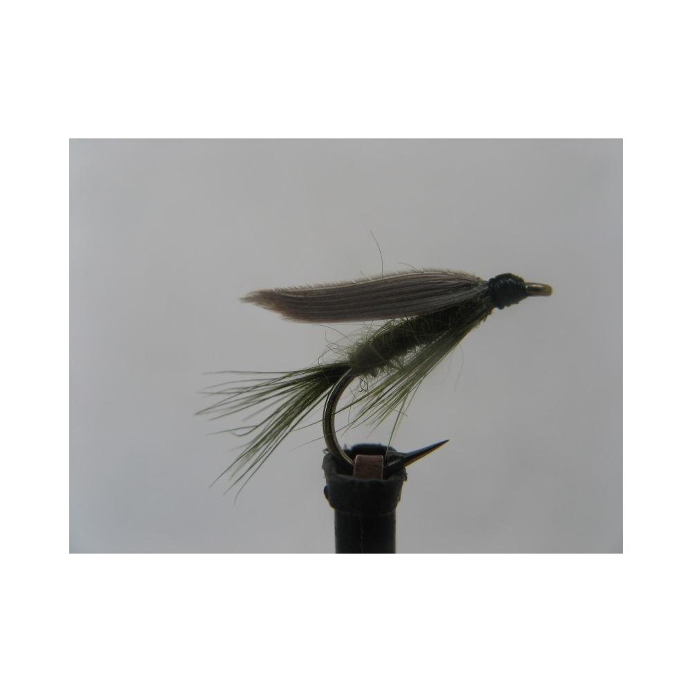 Wet Olive Dun Size 12