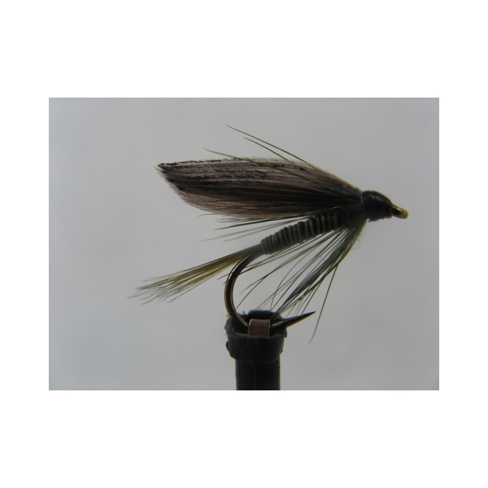 Wet Olive Quill Size 12