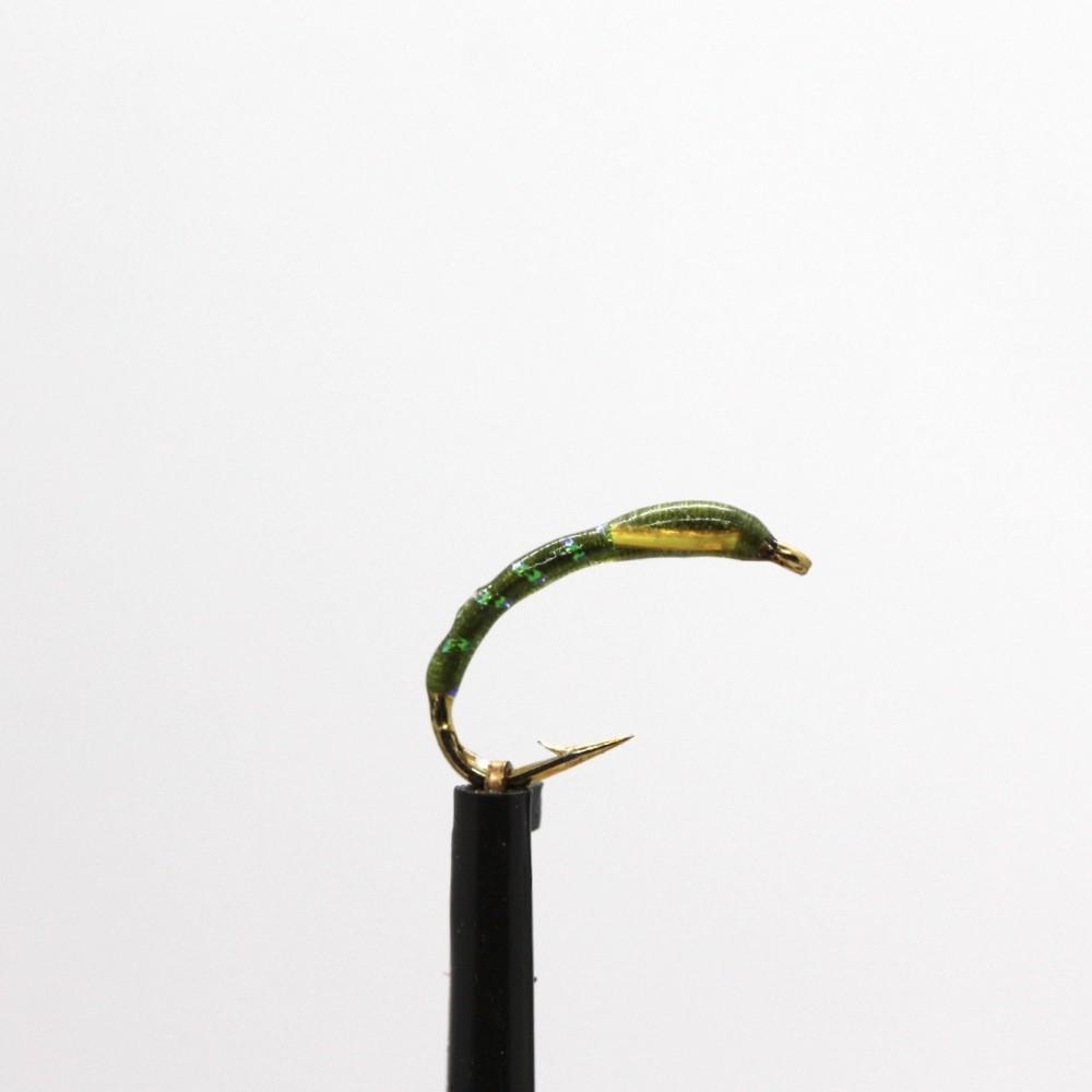 Olive Sunburst Cheeks Epoxy Buzzer