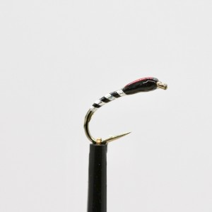 Sunburst// Holo Blue Quill Buzzers size 14 Fly Fishing Straight Hook Set of 3