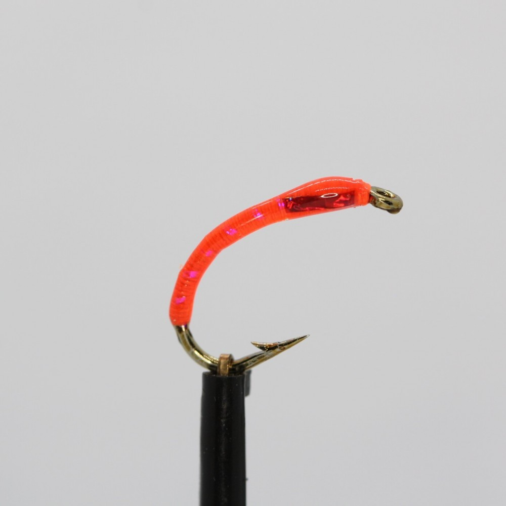 UV Orange Holo Red Cheeks Epoxy Buzzer