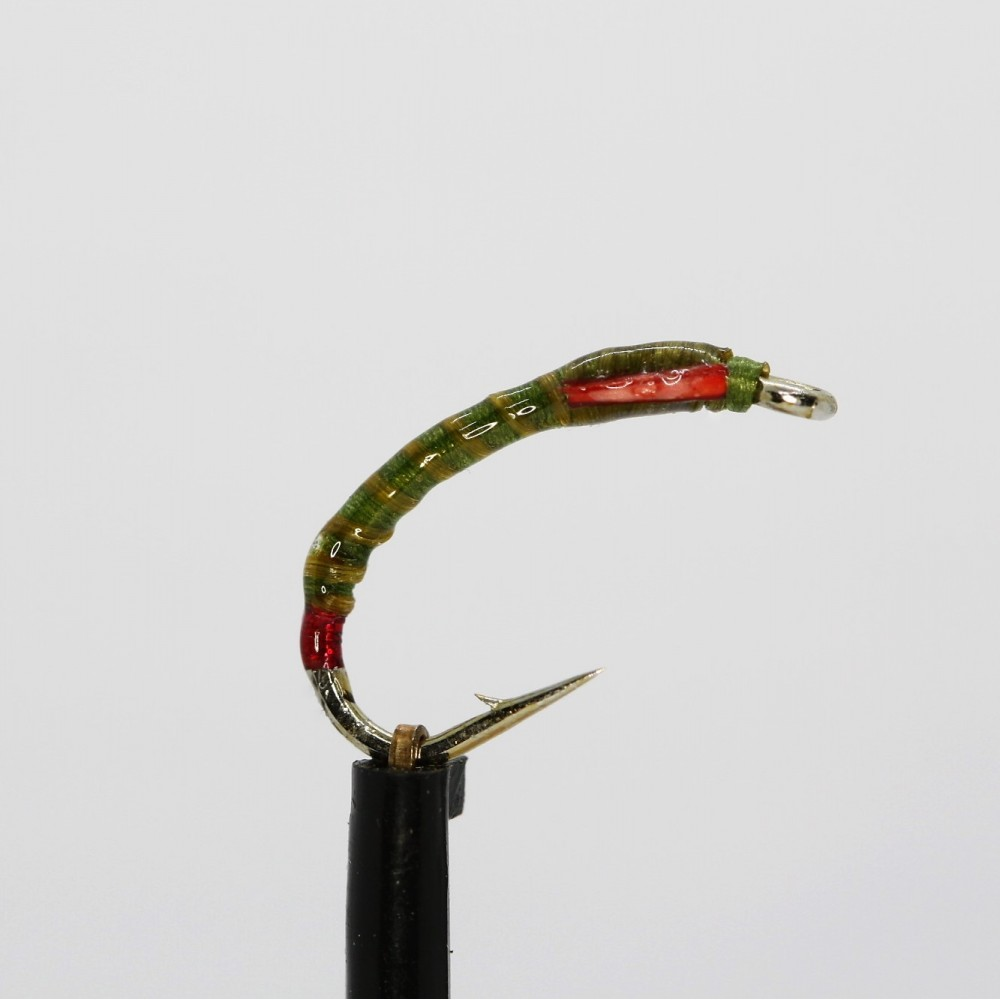 Olive Hot Red Butt Flexifloss Buzzer