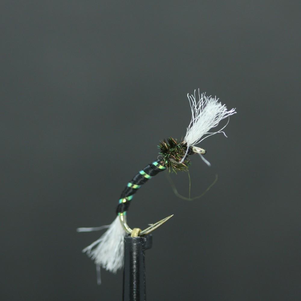 Black Pearly Rib Standard Buzzer