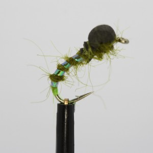Pineapple/White Pearl Booby Size 10